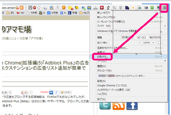 webページ pdf ie chrome javascript 保存