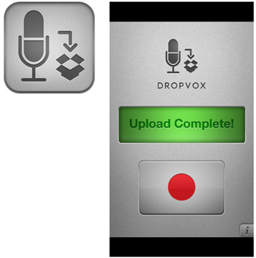 会議などをiPhoneで録音してDropboxへ自動で保存し共有できるアプリ「DropVox」