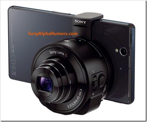 sonyの「レンズカメラ」