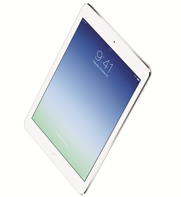 「アイパッド エアー(iPad Air)」の外観