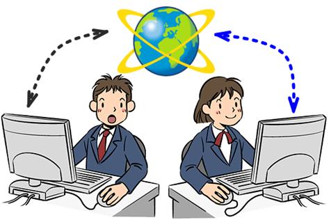 インターネット経由で友人のコンピュータをリモート操作する方法
