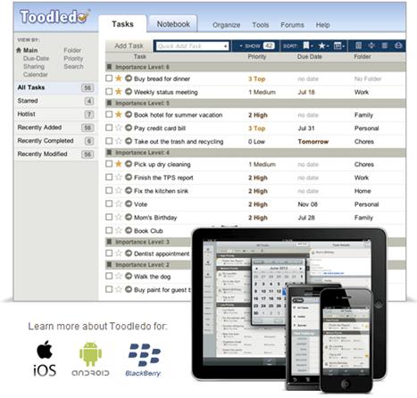 高機能タスク管理ツール「Toodledo」の設定方法