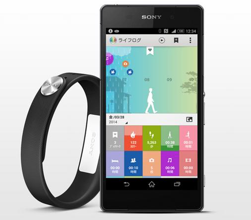 Xperia ファン必携スマートバンド「SmartBand」