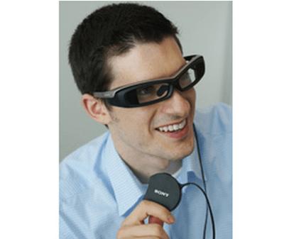ソニーが開発した「SmartEyeglass(スマートアイグラス)」
