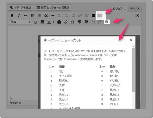 WordPressの投稿で編集効率を劇的に上げてくれるショートカット