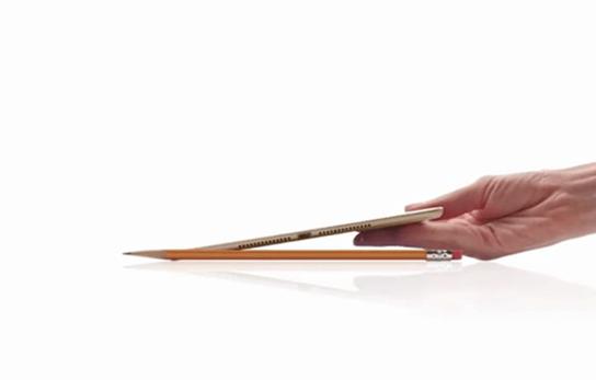 「iPad Air 2」の驚愕の薄さ