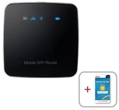 格安SIMカードと「FS010W」(LTE対応SIMフリーモバイルルータ)