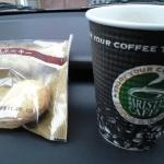 セブンイレブンで挽きたてコーヒーとクッキーで温まる!