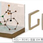 Google ロゴ「ドロシー ホジキン」というノーベル化学賞受賞者ーこれってペニシリン?