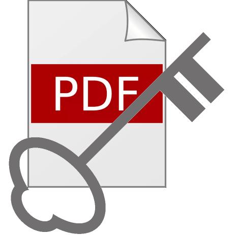 PDFに閲覧用パスワードをかける方法