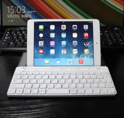 iPadやWindowsタブレットでも利用できるおすすめのモバイルキーボード