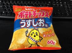 ポテトチップス うすしお60g