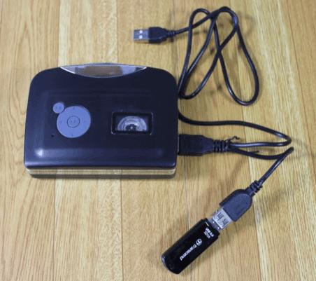 カセットテープUSB変換プレーヤー