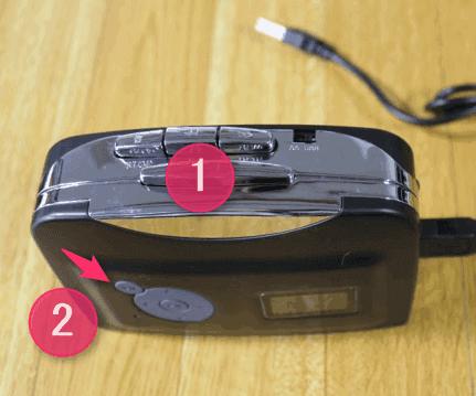 カセットテープの音源をデジタル化する手順