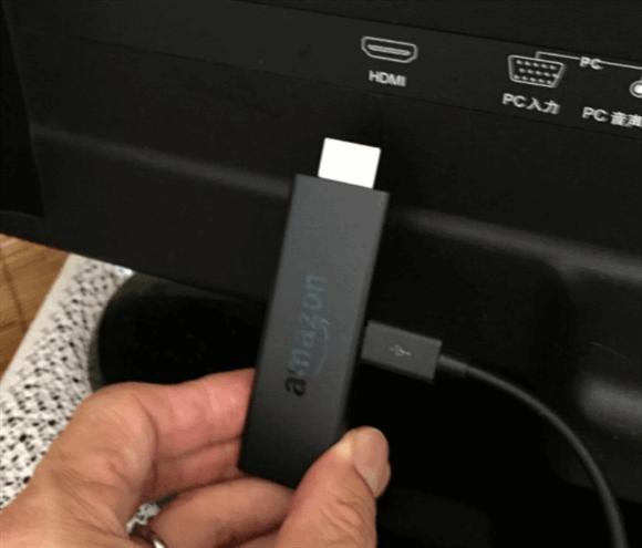 テレビのHDMIに差し込んで利用できるスティック型のデバイス 「Fire TV」