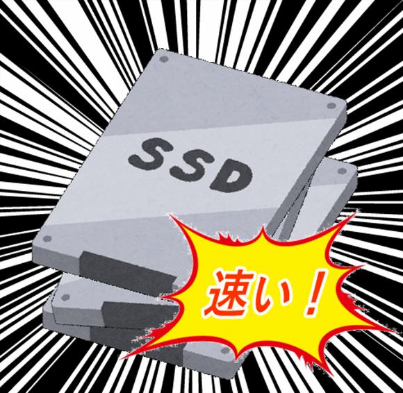 多重SSDはサーバースピードを速める。