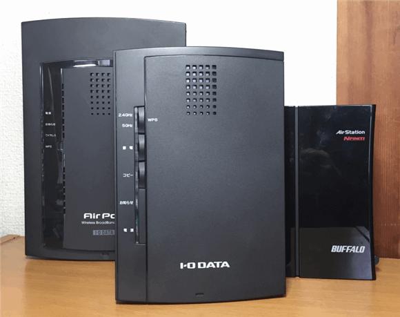 我が家で利用した3つの無線LANルーター