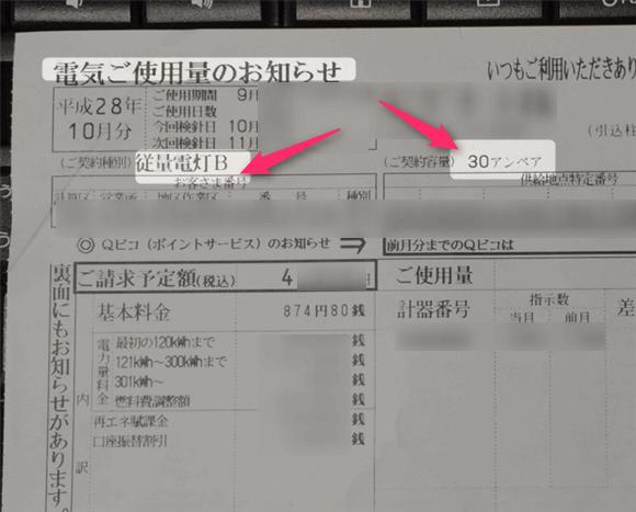 「電気りご利用量のお知らせ」九州電力