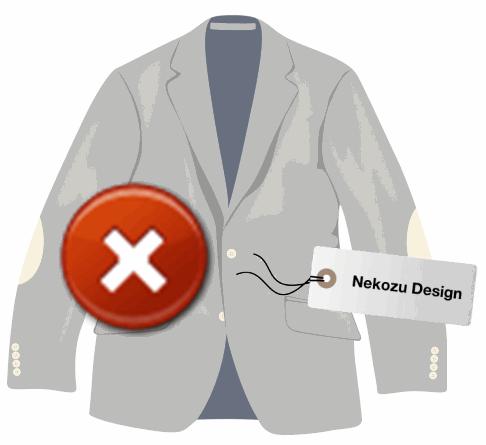 Amazonファッションから服やシューズを購入して自宅で試着する場合の注意事項。商品タグを絶対取ってはならない。