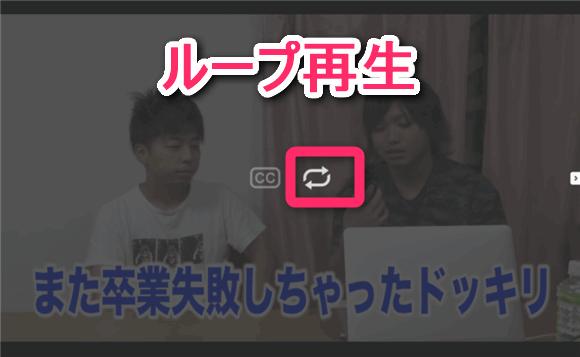 Fireタブレットにインストールした「vTube for YouTube FREE」でリピート(ループ)再生しているところ。