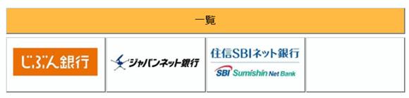お勧め支払い方法はネットバンキングだが可能なのは3銀行だけ。