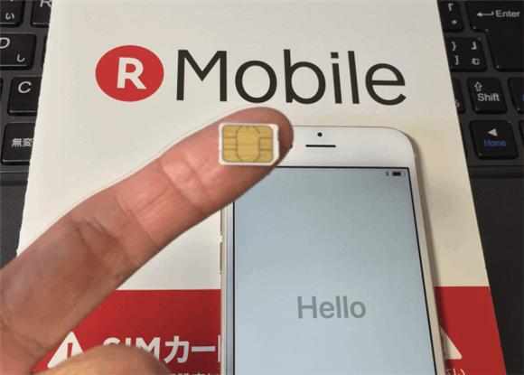 楽天モバイルのnanoSIMカードとソフトバンクのiPhone6