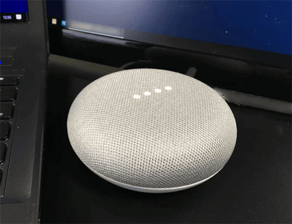 google home mini play music