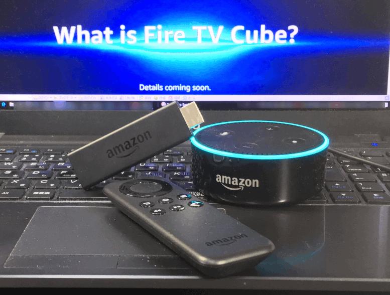 Amazon Fire TV と Amazon Echoの機能が同時に仕える Fire TV Cube。