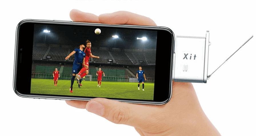iPhoneでワンセグ・フルセグ テレビを見れる チューナー 最新モデル XIT-STK200-LM。