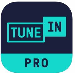 TuneIn Radio Pro ラジオを録音でいるiOS アプリ