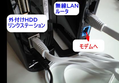 リンクステーションと無線LANルータをつなぐ方法