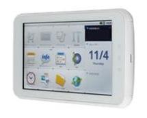 「光iフレーム」はNTTのサービス「フレッツ・マーケット」を簡単に使うためのタブレット端末