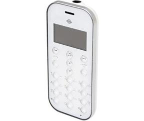 Bluetooth(ブトゥース)対応の受話器 mini Phone「BT-Phone01白