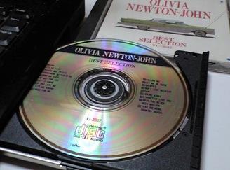 CDドライブへのセット