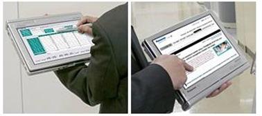コンバーチブルのタブレットPC「Let's note C1」はペンと指で快適操作。