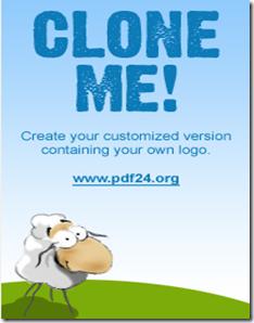 「PDF24 Creator」