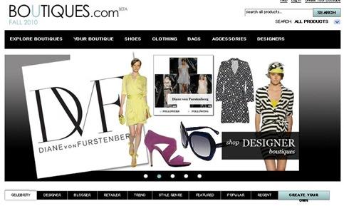 グーグルのファッション推奨サイトBoutiques.com