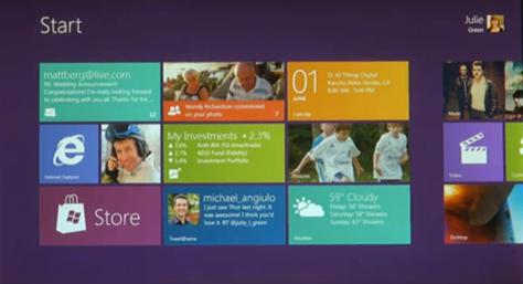 マイクロソフトの次期OS「Windows 8」の新機能