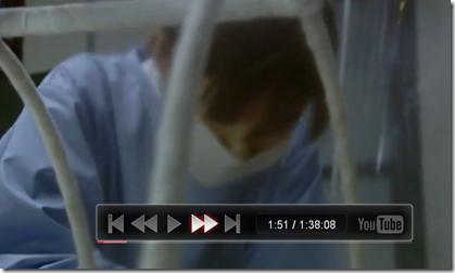 「Leanback」で動画の再生と停止、巻き戻しと早送り