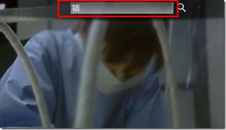 「Leanback」で動画を検索する方法