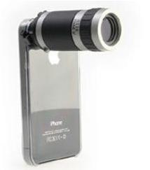 iPhoneやスマートフォンを6倍光学ズームを可能にする望遠レンズ「モバイルフォン テレスコープ」