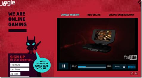 パナソニックの新型ゲーム機「Jungle(ジャングル)」の公式サイト