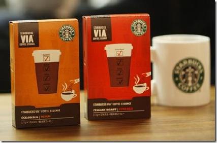 スターバックスのインスタントコーヒーVIA(ヴィア)が新登場