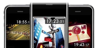iPhone専用のオシャレな卓上時計アプリ「Instaqlock(インスタクロック)」