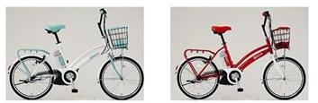 イオンの電気自転車「e-bike i-MiEV version」のデザイン